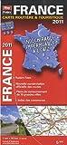 echange, troc Blay-Foldex - 2011 France Carte Routière et Touristique indéchirable