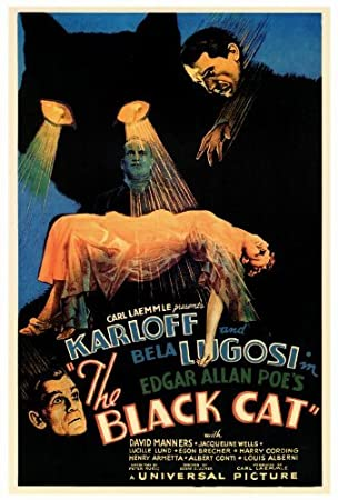 The Black Cat POSTER Movie (27 x 40 Inches - 69cm x 102cm) (1934)