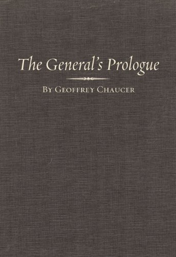 The General Prologue: Part One A and Part One B (Variorum Chaucer) (Pt.1A), Geoffrey Chaucer