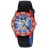 Reloj Análogo Disney Mickey Mouse W002369 para niños, negro