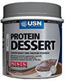 USN Protein Dessert 454 g Chocolate Slow Release Night-Time Protein Formula Dessert