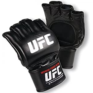 UFC Men's Official Fight Gloves, Black, X-Large