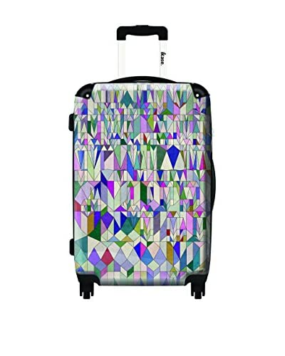 Ikase 24 Architecture In Pink Rolling Luggage, Multi