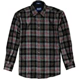 Pendleton Men's Classic Fit Fireside Button Down Shirt, MacPherson Hunting Tartan, Medium