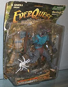 Everquest The Ruines of Kunark Series 1 Grenix Mucktail Action Figure