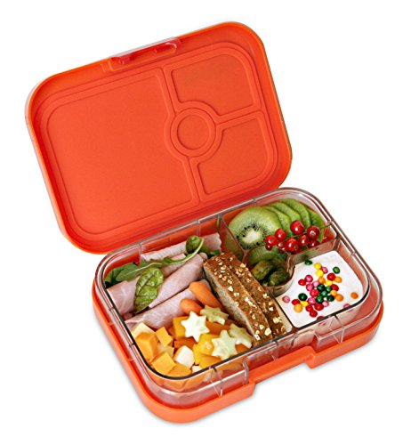 yumbox leakproof bento lunch box container zucca orange for kids adults home garden. Black Bedroom Furniture Sets. Home Design Ideas