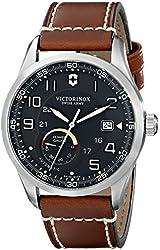 Victorinox Men's 241575 AirBoss Analog Display Swiss Automatic Brown Watch