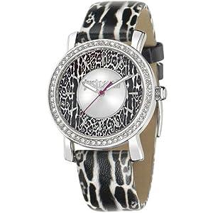 Just Cavalli R7251595503 Women's Mohak Silver Dial Watch