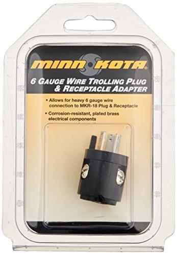 MinnKota MKR 18A 6 ga. Wire Adapter primary