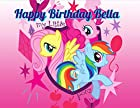 My Little Pony Edible Image Photo Cake Topper Sheet Personalized Custom Customized Birthday Party - 1/4 Sheet - 78448