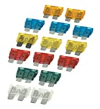 Auto Fuse Set 5-30Amp - 15 Pieces