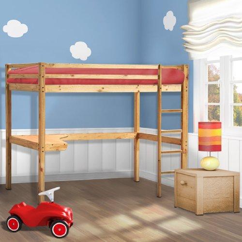 lit mezzanine bureau les bons plans de micromonde. Black Bedroom Furniture Sets. Home Design Ideas