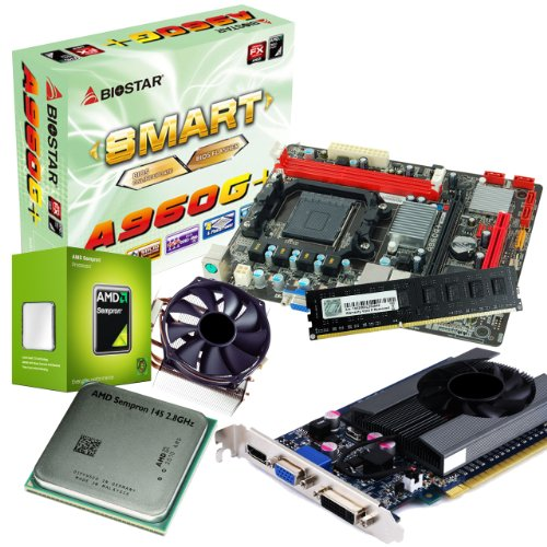 tronics24 PC Aufrüstkit | AMD Sempron 145 2.8GHz | Nvidia GeForce GT630 4GB