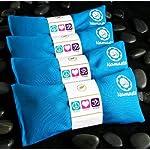 Namaste Yoga Lavender Eye Pillow – Turquoise – Set of 4