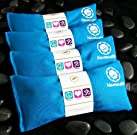 Namaste Yoga Lavender Eye Pillow - Turquoise - Set of 4
