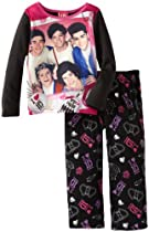 One Direction Girls 4-10 1D Photo Pajama Set, Multi, 4