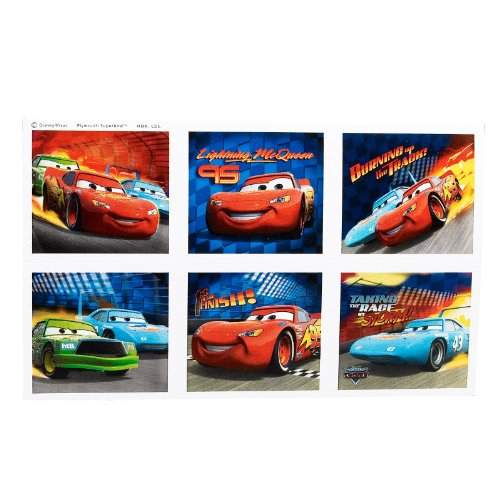 Disney's World of Cars Stickers (4 count)