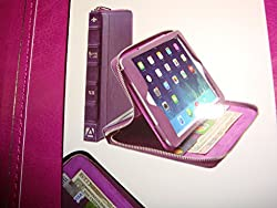 Aduro AIPM-BC03-CS Folio and Stand Case for iPad Mini, Pink