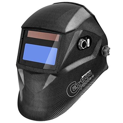 Proteco-Werkzeug-P800E-C-Automatik-Schweihelm-Schweisshelm-Schweissmaske-Schweischild-Automatikhelm-Carbon