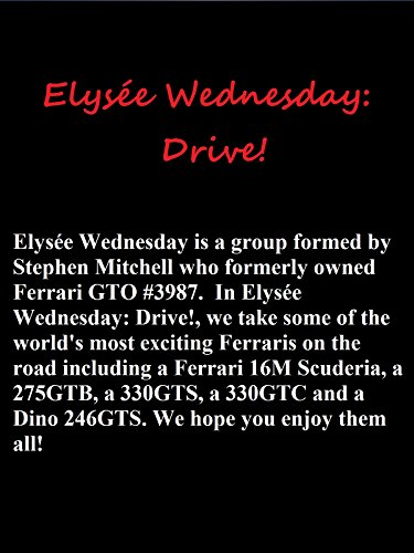 Elysée Wednesday: Drive!