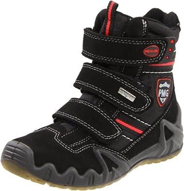 Primigi Swan-E Boot (Toddler/Little Kid/Big Kid),Nero Suede (5875077),33 EU (1.5 M US Little Kid)