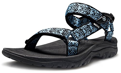 AT-W110-KBL_250 Women 8B(M) Atika Women's Maya Trail Outdoor Water Shoes Sport Sandals W110 (Women Outdoor Sandals compare prices)