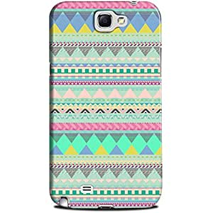 CASE U Back Cover Aztec Tribal Designer Case for Samsung Galaxy Note 2