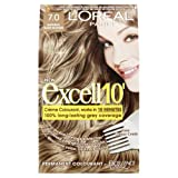 L'Oreal Excell10 Hair Colour - Natural Dark Blonde 7.0