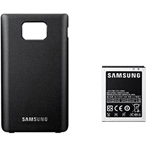 Samsung Extended Battery and Cover for Galaxy S II - Black