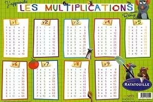 Accessoires livres recherche d taill e nos rubriques - Tables de multiplication cm2 ...