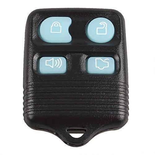 KKMOON Nuova Glow in Dark 4 Button Keyless Entry chiave a distanza del trasmettitore Fob Clicker per Ford