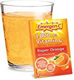 Emergen-C Super Orange, Net Wt. 9.3 Oz, 30-count