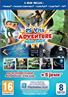 Adventure Games Mega Pack + Carte Mémoire 8 Go pour PS Vita