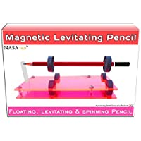 Do It Yourself Levitating Pencil Floating Pencil Making Educational Toy Kit II Magnetic levitating pencil project kit II Magnetic levitation II Magnetic levitation project kit II Magnet science learning and fun kit II Office show-piece