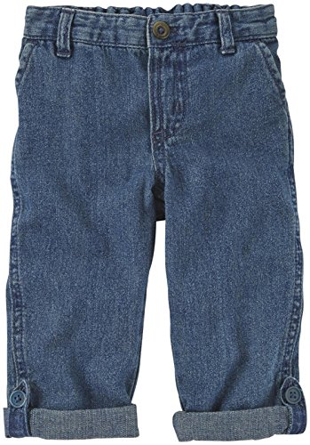 Carter'S Woven Pants (Baby) - Denim-3 Months front-922192