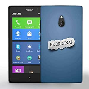 Snoogg Be Original Printed Protective Phone Back Case Cover For Nokia Lumia XL