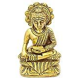 Exotic India Bhagawan Buddha - Brass Statue