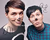 "Dan and Phil Reprint Signed 11x14"" Poster Photo RP Autographed #1 YouTube"