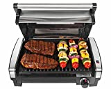 NEW Hamilton Beach 25361 Indoor Searing Grill w/ Lid Viewing Window