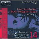 Bach, J.S.: Cantatas, Vol. 14 - Bwv 48, 89, 109, 148