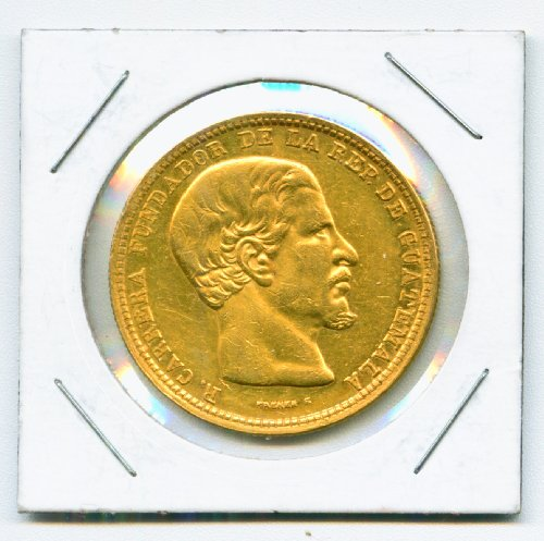 gold-1869-r-guatemala-20-peso-president-rafael-carrera-y-turcios-rare-coin-km-194