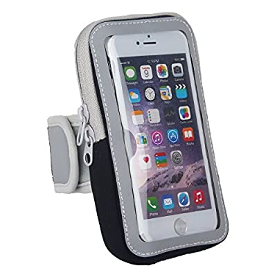 DeLong Cell Phone Armband Case For iphone 6 6s Plus Samsung Best Suit For Exercise Training Fitness Running Gym Jogging Hiking Mountain Climbing Cycling Fishing