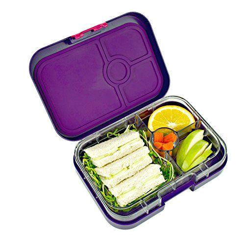 galleon yumbox leakproof bento lunch box container figue purple for kids and adults. Black Bedroom Furniture Sets. Home Design Ideas