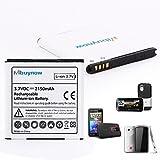 Mbuynow® 2150mAh Li-ion Ersatz Ersatzbatterie Akku Battery für HTC Sensation XL, Sensation XE, EVO 3D, Amaze 4G