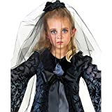 Kids Gothic Midnight Bride Veil