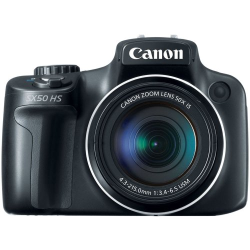 Best Buy! Canon PowerShot SX50 HS 12MP Digital Camera with 2.8-Inch LCD (Black)