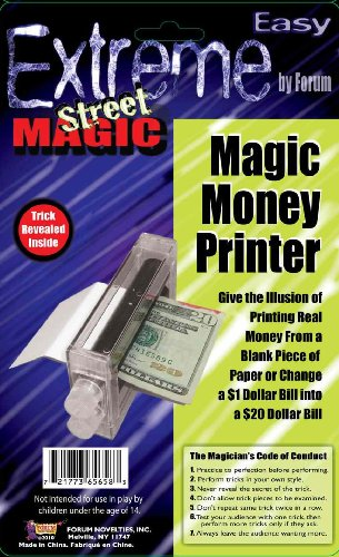 Extreme Street Magic – Magic Money Printer