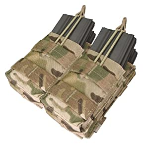 CONDOR MA43-008 Double Stacker M4/M16 Mag Pouch MultiCam