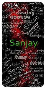 Sanjay (Victory, Lord Shiva, Dhritarashtra's Minister) Name & Sign Printed All over customize & Personalized!! Protective back cover for your Smart Phone : Moto X-STYLE