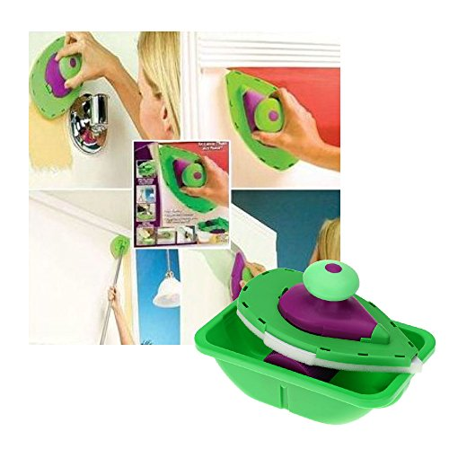 Paint Roller and Tray Set Painting Brush Point N Paint Household Wall Decorative Tool